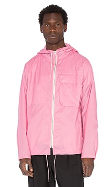 Our Legacy Cropped Lizard Parka in Rose