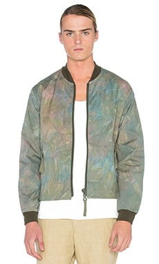 Our Legacy Force Bomber in Olive Tie Dye