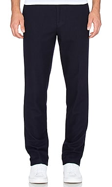 Our Legacy Classic Trousers in Soft Navy Wool Canvas