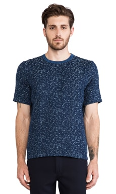 Our Legacy Weave Tear Tee in Indigo