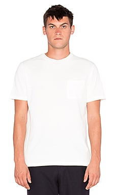 Our Legacy Pocket Brick Crepe Tee in White