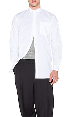 Our Legacy Shirt Coat Poplin in White