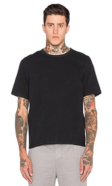Our Legacy Weaved Tee in Black