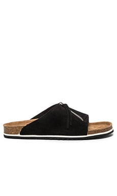 Our Legacy Tassle Slip On in Pirate Black & Honey