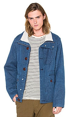 OUTERKNOWN Arroyo Coat in Bright Denim