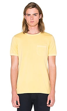 OUTERKNOWN Sojourn Pocket Tee in Fiberglass
