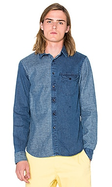 OUTERKNOWN Departure Shirt in Bright Denim