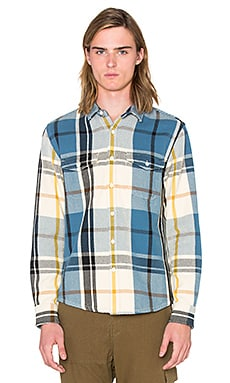 OUTERKNOWN Blanket Shirt in Pier Plaid
