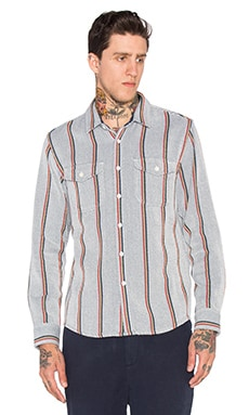 OUTERKNOWN Blanket Shirt in Serape Stripe