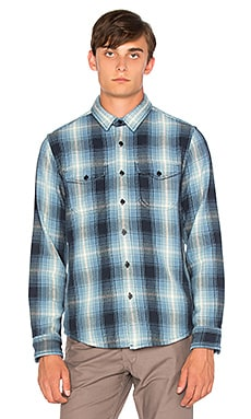 OUTERKNOWN Blanket Shirt in Puget Plaid