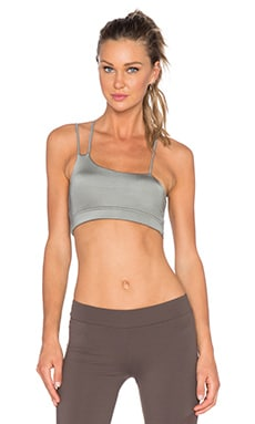 OUT Agent Triple Strap Sports Bra in Hidden Khaki
