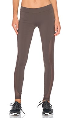 OUT Best Friend Mesh Legging in Grounded Grey