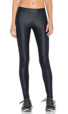 OUT Wife Sport Legging in Black Gloss