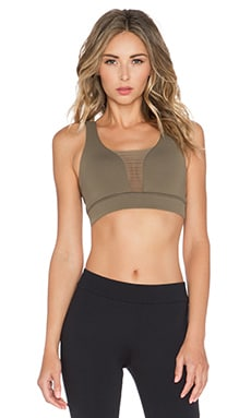 OUT Executive Sports Bra in Hidden Khaki