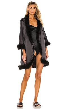 Candice Feather Kimono OW Intimates $180
