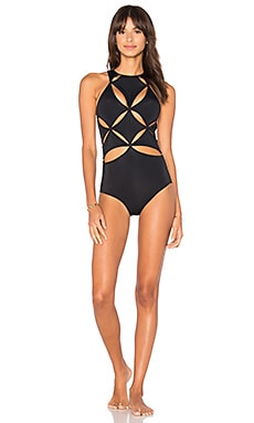 Poppy One Piece in Black