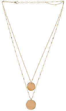 Double Coin Necklace Paradigm $198