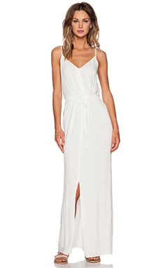 Paige Denim Lyssa Dress in White