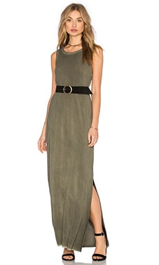 Paige Denim Gretchen Dress in Vintage Desert Olive