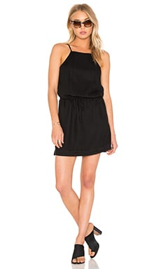Paige Denim Anjelica Dress in Black Overdye