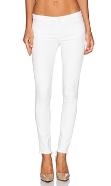 Paige Denim Verdugo Skinny in Distressed Optic White