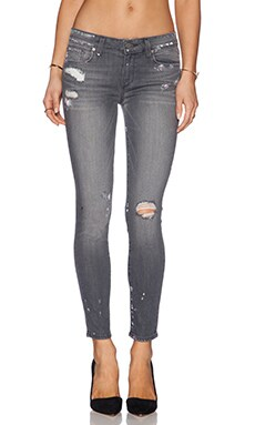 Paige Denim Verdugo Ankle in Grey Artisan Vintage