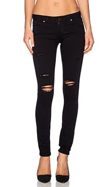 Verdugo Ultra Skinny in Black Shadow Destructed