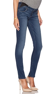 Paige Denim Maternity Skyline Skinny in Lex