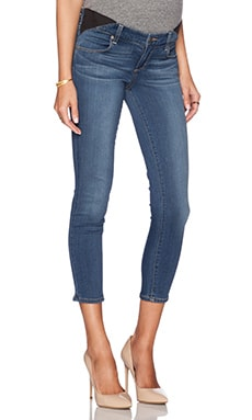 Paige Denim Maternity Verdugo Crop in Tristan