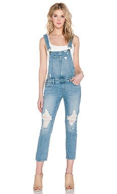 Paige Denim Sierra Overall in Serena Destructed