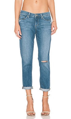 Paige Denim Jimmy Jimmy Crop in Cinda Destructed