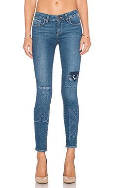 Paige Denim Verdugo Ankle Skinny in Ryder Piercing