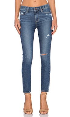 Paige Denim Hoxton Ankle Skinny in Toren Destructed