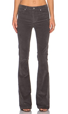 Paige Denim High Rise Bell Canyon in Granite Grey