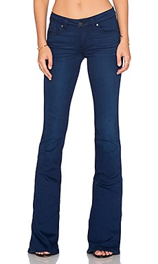 Paige Denim Lou Lou Flare in Warren