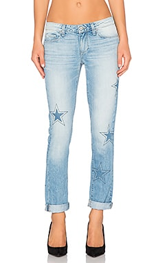 Paige Denim Jimmy Jimmy Skinny in Athena Indigo Patch