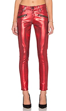 Paige Denim Indio Zip Ultra Skinny in Scarlett Galaxy