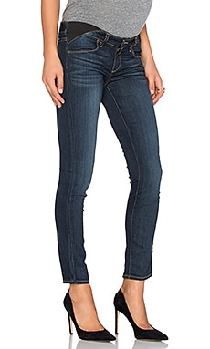 Paige Denim Skyline Maternity Ankle Peg Skinny in Alanis