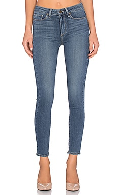 Paige Denim Hoxton Ankle Skinny in Linden
