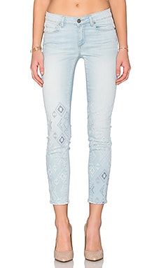 Paige Denim Verdugo Ankle in Norway Embroidered