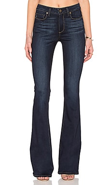 Paige Denim High Rise Bell Canyon in Hartmann