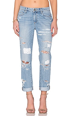 Paige Denim Jimmy Jimmy Ankle in Huxley Destructed