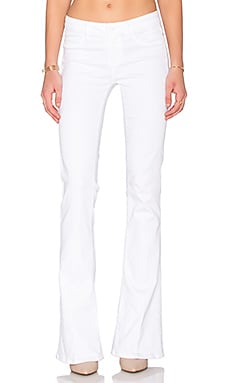 Paige Denim Lou Lou Flare in Ultra White