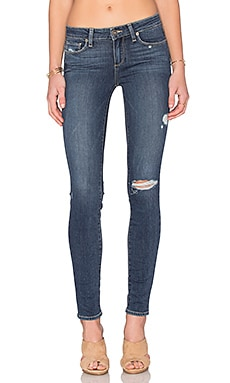 Paige Denim Verdugo Ultra Skinny in Silas Destructed