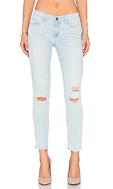 Paige Denim Verdugo Ankle in Lainey Destructed