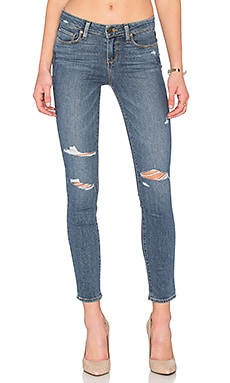 Paige Denim Verdugo Ankle in Brady Destructed