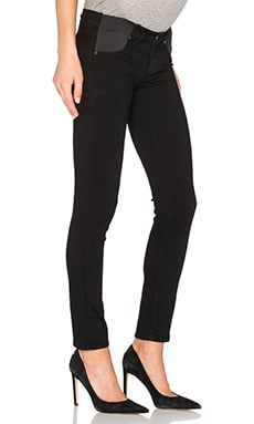 Paige Denim Skyline Ankle Peg in Black