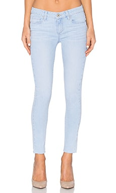 Paige Denim Verdugo Unfinished Hem Ankle in Noelly