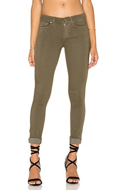 Paige Denim Verdugo Ankle in Desert Olive