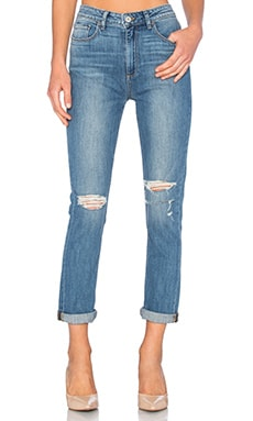 Paige Denim Carter Slim in Dakota Destructed